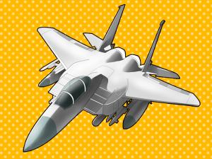 乗り物(戦闘機) - 絵:エポナ